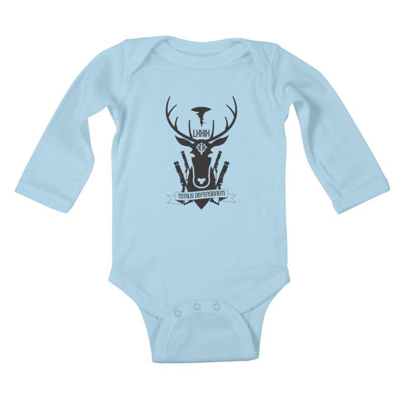 Total Defense of A Bao A Qu Kids Baby Longsleeve Bodysuit by GundamUK's Store!