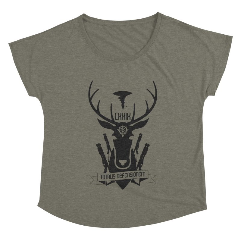 Total Defense of A Bao A Qu Women's Dolman Scoop Neck by GundamUK's Store!