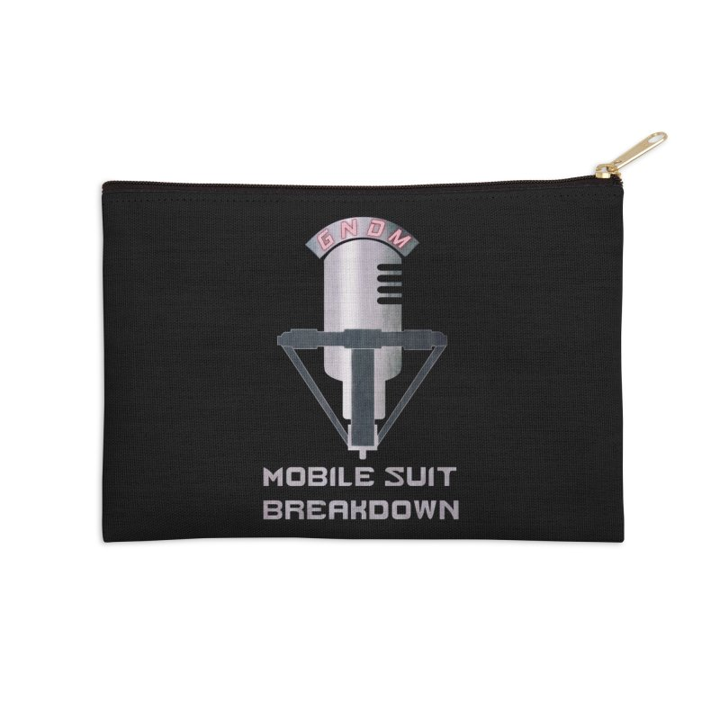 Radio Free Earth Sphere Accessories Zip Pouch by Mobile Suit Breakdown's Shop