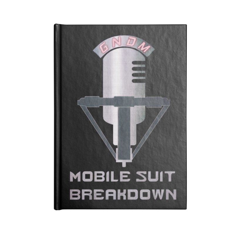 Radio Free Earth Sphere Accessories Lined Journal Notebook by Mobile Suit Breakdown's Shop