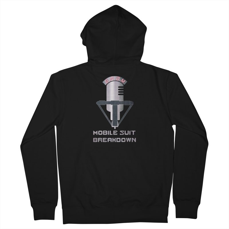 Radio Free Earth Sphere Men's French Terry Zip-Up Hoody by Mobile Suit Breakdown's Shop