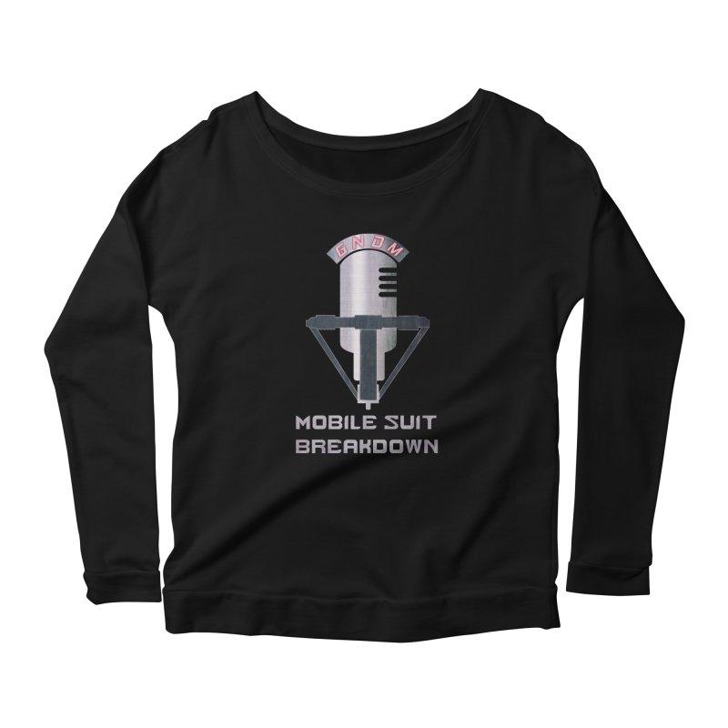 Radio Free Earth Sphere Women's Scoop Neck Longsleeve T-Shirt by Mobile Suit Breakdown's Shop