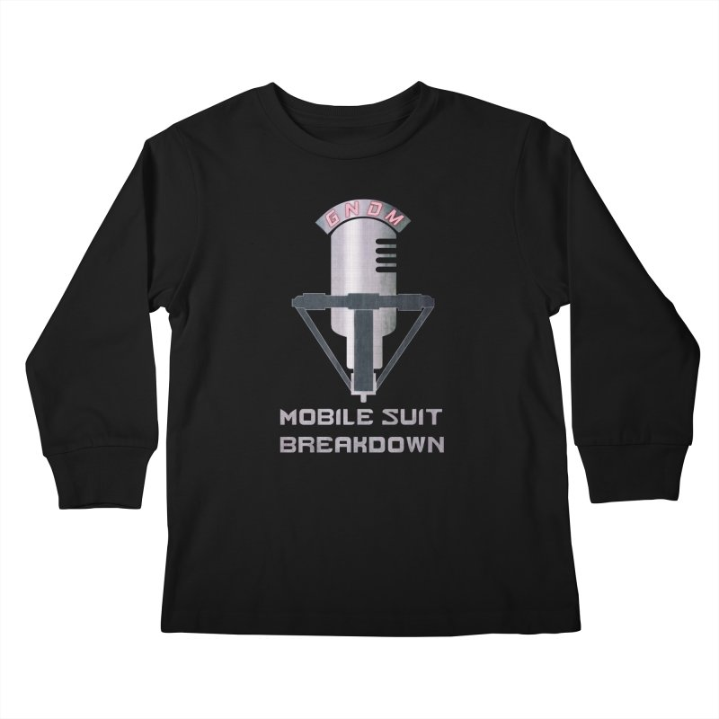 Radio Free Earth Sphere Kids Longsleeve T-Shirt by Mobile Suit Breakdown's Shop