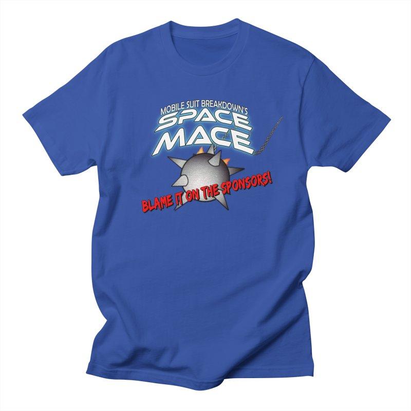 Mighty Space Mace Men's T-Shirt by Mobile Suit Breakdown's Shop