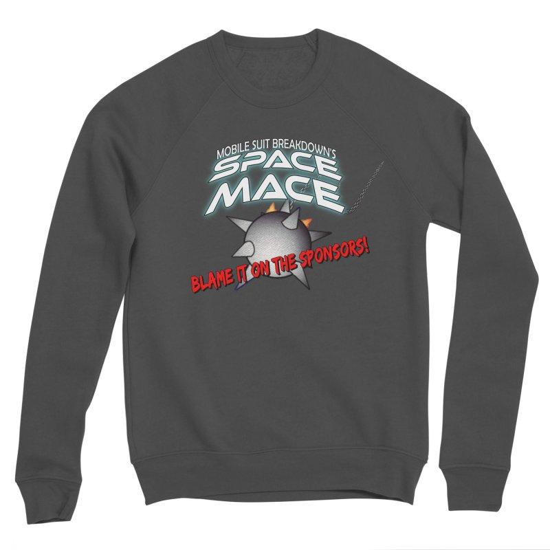 Mighty Space Mace Women's Sponge Fleece Sweatshirt by Mobile Suit Breakdown's Shop
