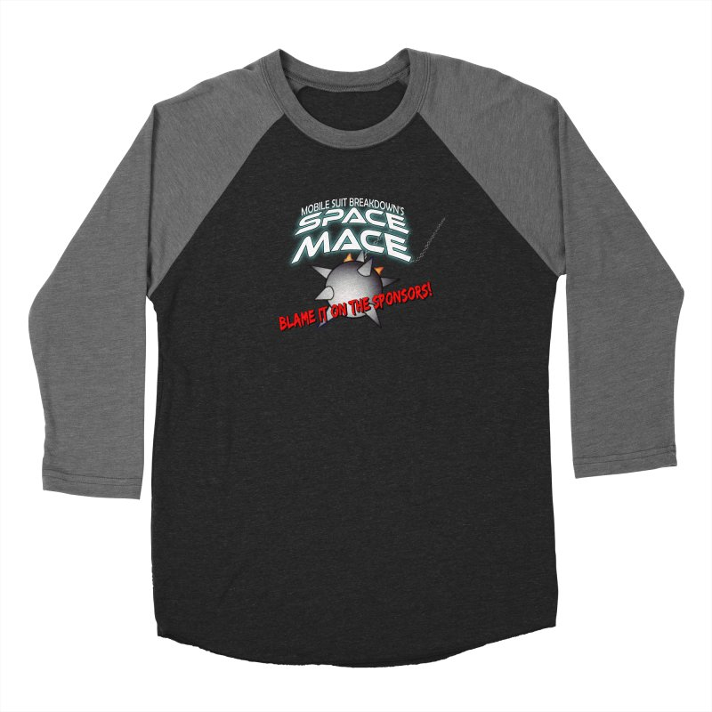 Mighty Space Mace Men's Longsleeve T-Shirt by Mobile Suit Breakdown's Shop