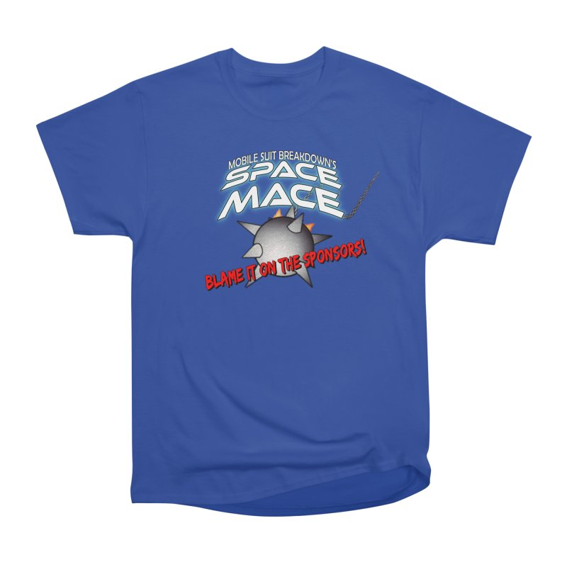 Mighty Space Mace Men's T-Shirt by Mobile Suit Breakdown's Shop