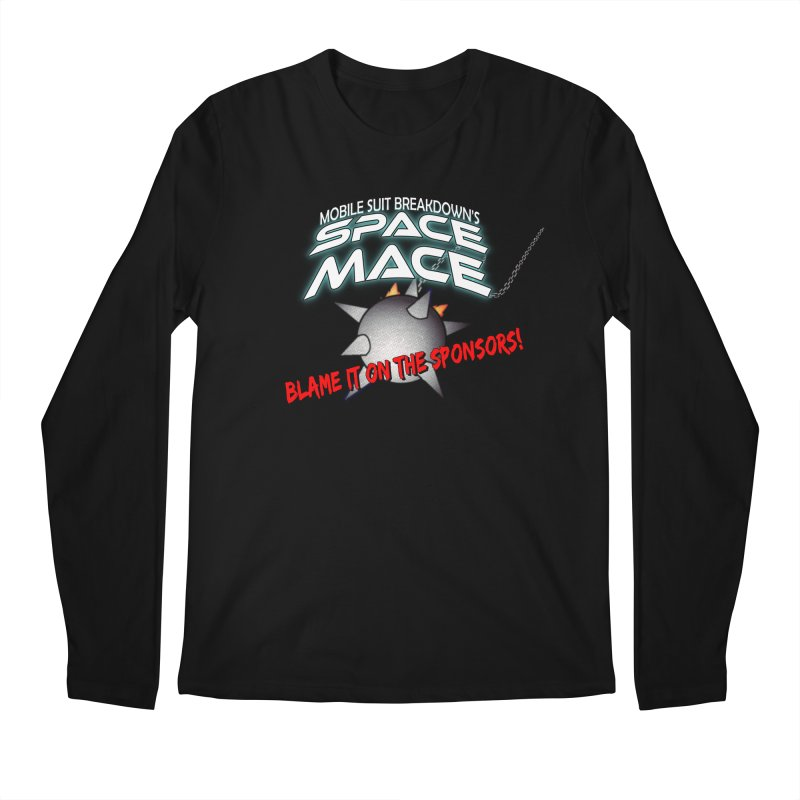 Mighty Space Mace Men's Regular Longsleeve T-Shirt by Mobile Suit Breakdown's Shop