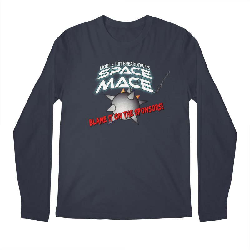 Mighty Space Mace Men's Regular Longsleeve T-Shirt by Mobile Suit Breakdown's Shop