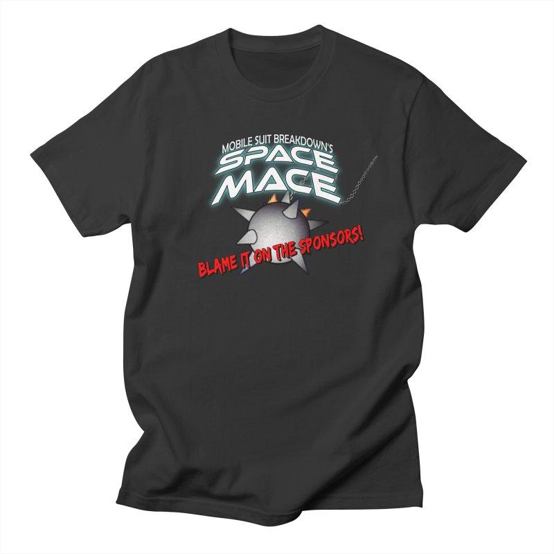 Mighty Space Mace Women's Regular Unisex T-Shirt by Mobile Suit Breakdown's Shop