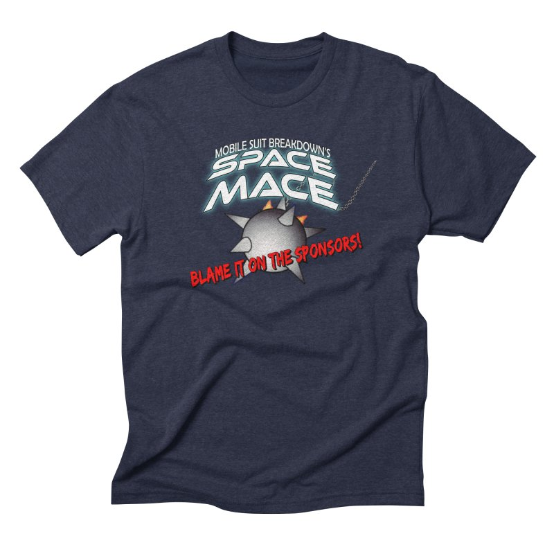 Mighty Space Mace Men's Triblend T-Shirt by Mobile Suit Breakdown's Shop
