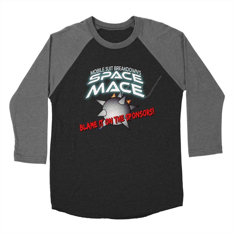 Mighty Space Mace Men's Baseball Triblend Longsleeve T-Shirt by Mobile Suit Breakdown's Shop