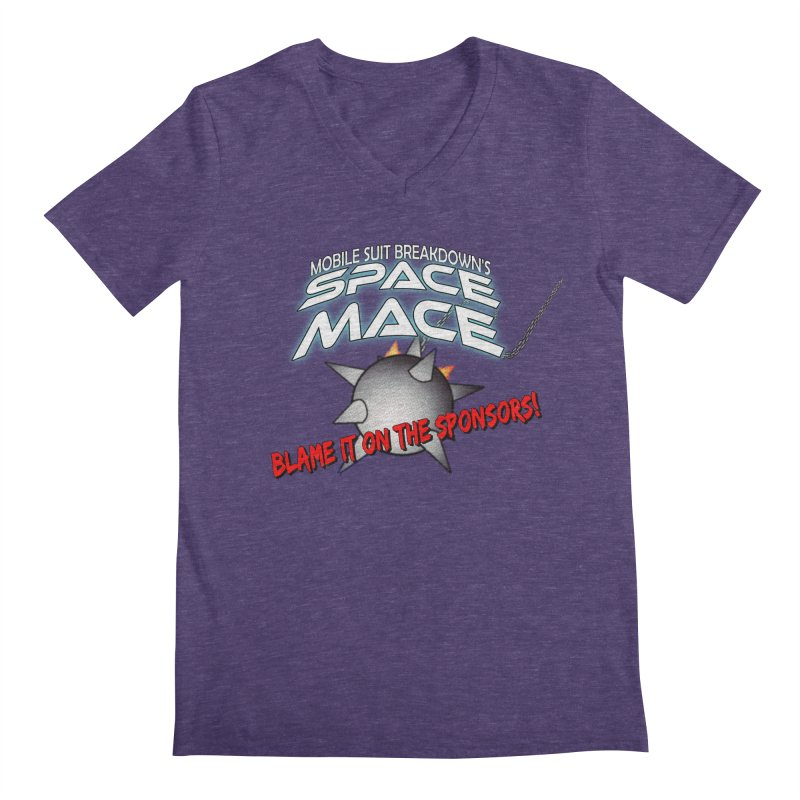 Mighty Space Mace Men's V-Neck by Mobile Suit Breakdown's Shop