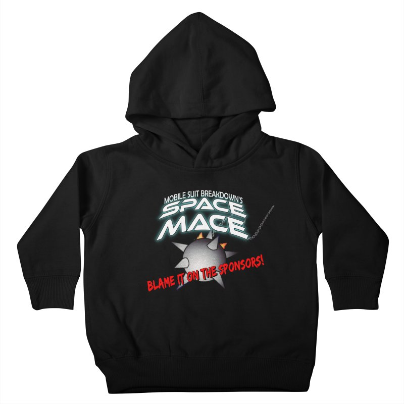 Mighty Space Mace Kids Toddler Pullover Hoody by Mobile Suit Breakdown's Shop