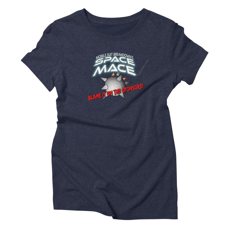Mighty Space Mace Women's T-Shirt by Mobile Suit Breakdown's Shop