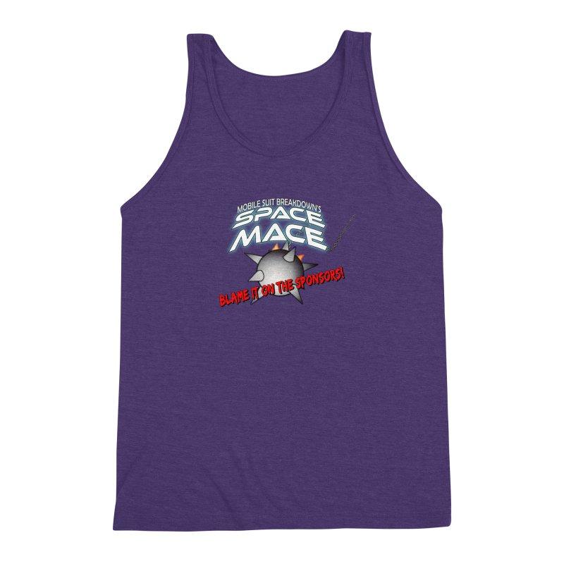 Mighty Space Mace Men's Triblend Tank by Mobile Suit Breakdown's Shop