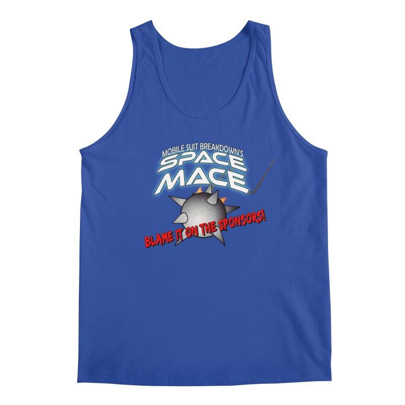 Mighty Space Mace Men's Regular Tank by Mobile Suit Breakdown's Shop