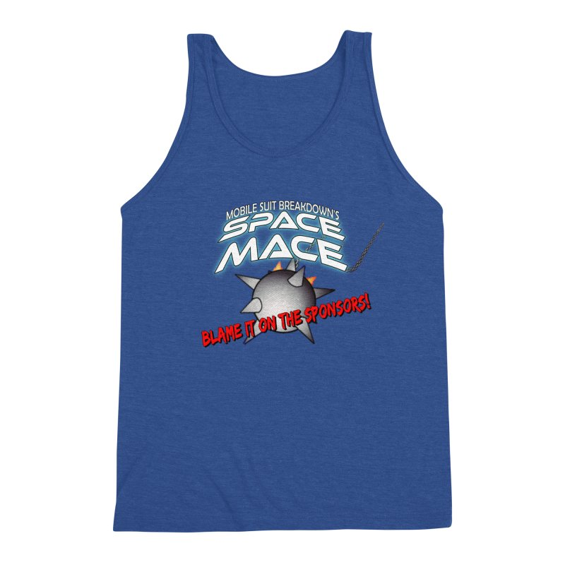 Mighty Space Mace Men's Triblend Tank by Mobile Suit Breakdown's Shop