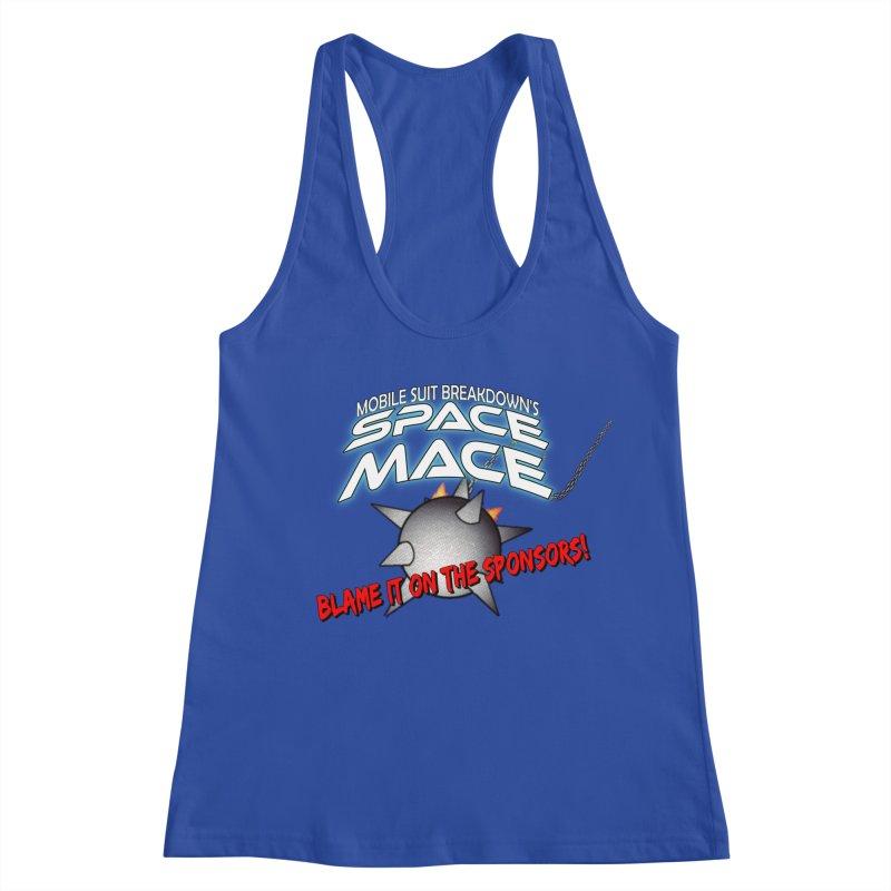 Mighty Space Mace Women's Racerback Tank by Mobile Suit Breakdown's Shop