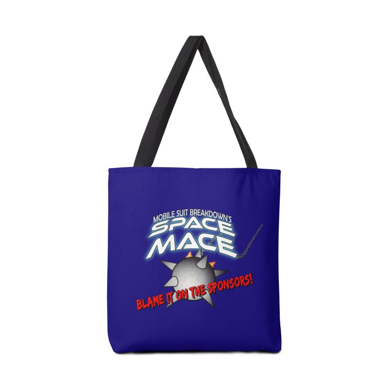 Mighty Space Mace Accessories Tote Bag Bag by Mobile Suit Breakdown's Shop