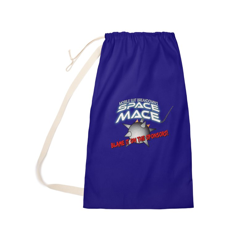 Mighty Space Mace Accessories Laundry Bag Bag by Mobile Suit Breakdown's Shop
