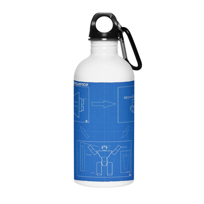 Transformation Sequence Accessories Water Bottle by Mobile Suit Breakdown's Shop