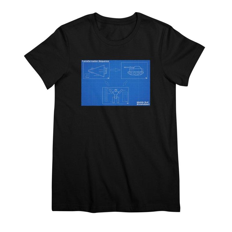 Transformation Sequence Women's Premium T-Shirt by Mobile Suit Breakdown's Shop