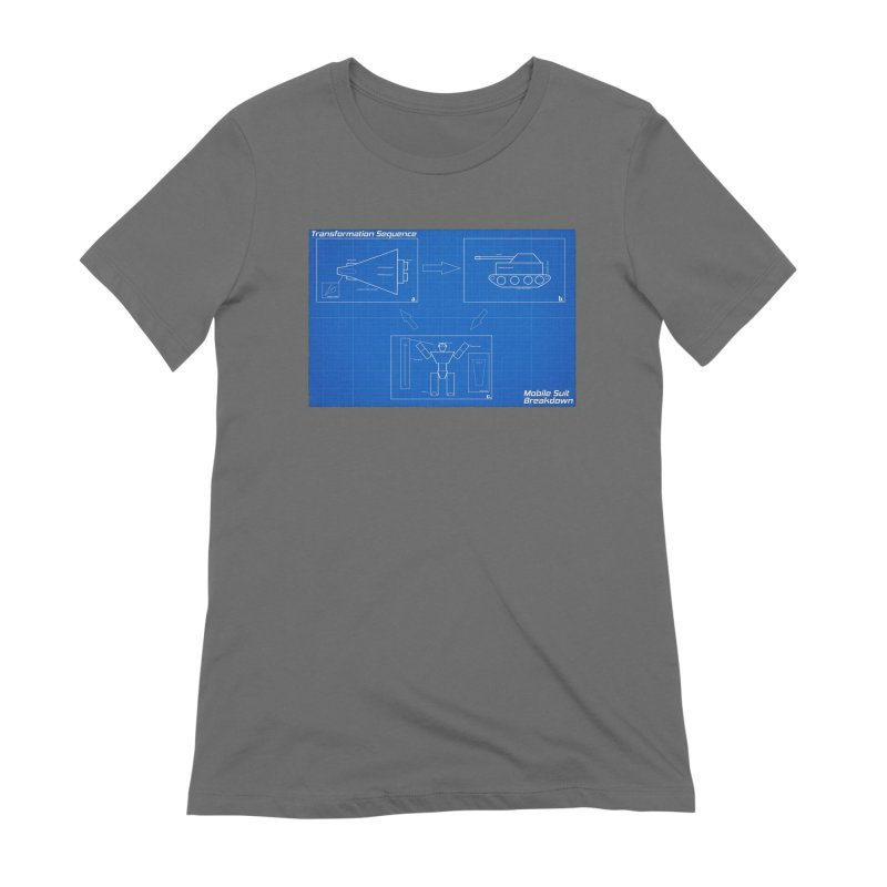 Transformation Sequence Women's Extra Soft T-Shirt by Mobile Suit Breakdown's Shop