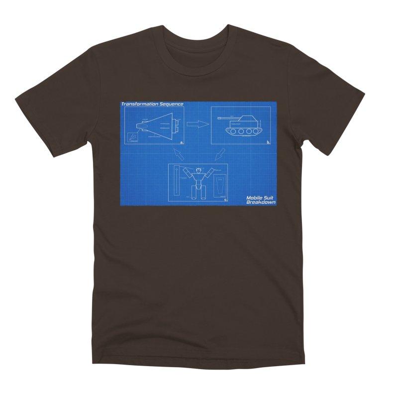 Transformation Sequence Men's Premium T-Shirt by Mobile Suit Breakdown's Shop