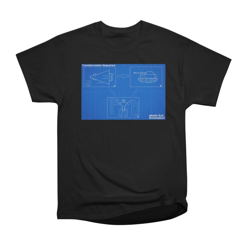 Transformation Sequence Men's Heavyweight T-Shirt by Mobile Suit Breakdown's Shop