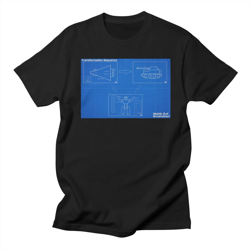 Transformation Sequence Men's Regular T-Shirt by Mobile Suit Breakdown's Shop