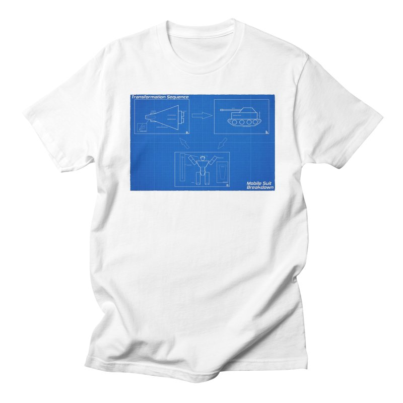 Transformation Sequence Men's T-Shirt by Mobile Suit Breakdown's Shop
