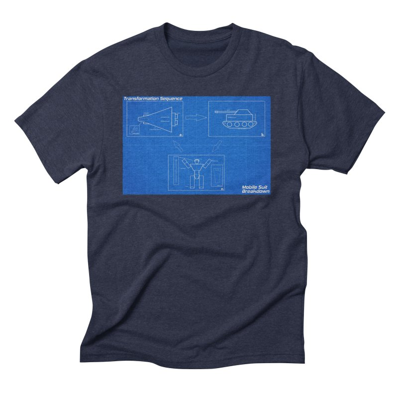 Transformation Sequence Men's Triblend T-Shirt by Mobile Suit Breakdown's Shop