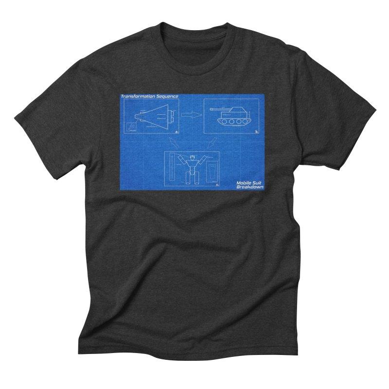 Transformation Sequence Men's Triblend T-Shirt by Mobile Suit Breakdown's Shop