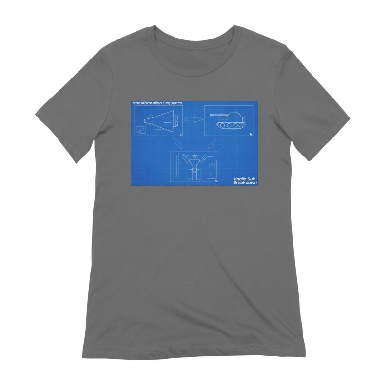 Transformation Sequence Women's T-Shirt by Mobile Suit Breakdown's Shop