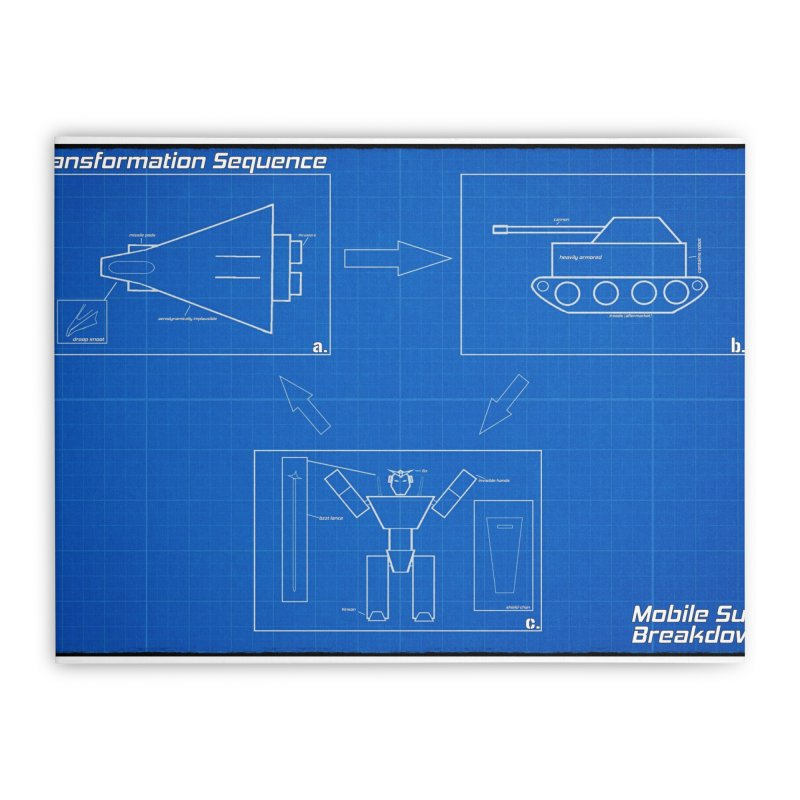 Transformation Sequence Home Stretched Canvas by Mobile Suit Breakdown's Shop