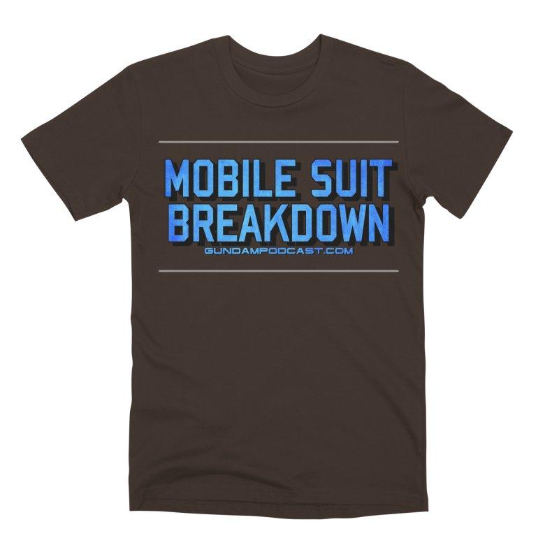 Mobile Suit Breakdown Men's Premium T-Shirt by Mobile Suit Breakdown's Shop