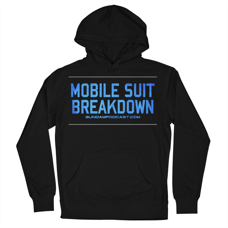 Mobile Suit Breakdown Women's French Terry Pullover Hoody by Mobile Suit Breakdown's Shop