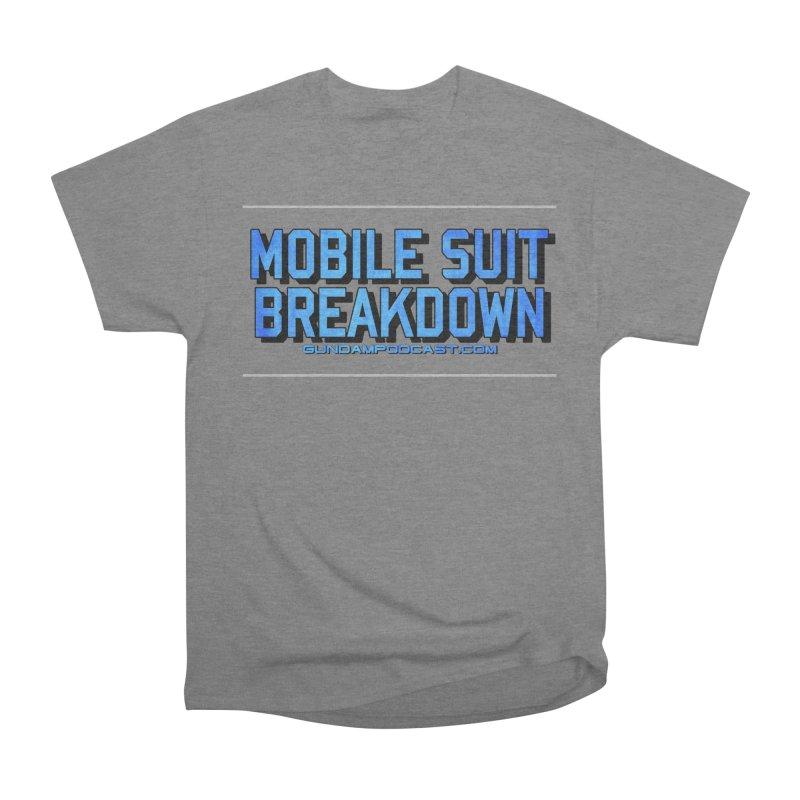 Mobile Suit Breakdown Women's Heavyweight Unisex T-Shirt by Mobile Suit Breakdown's Shop