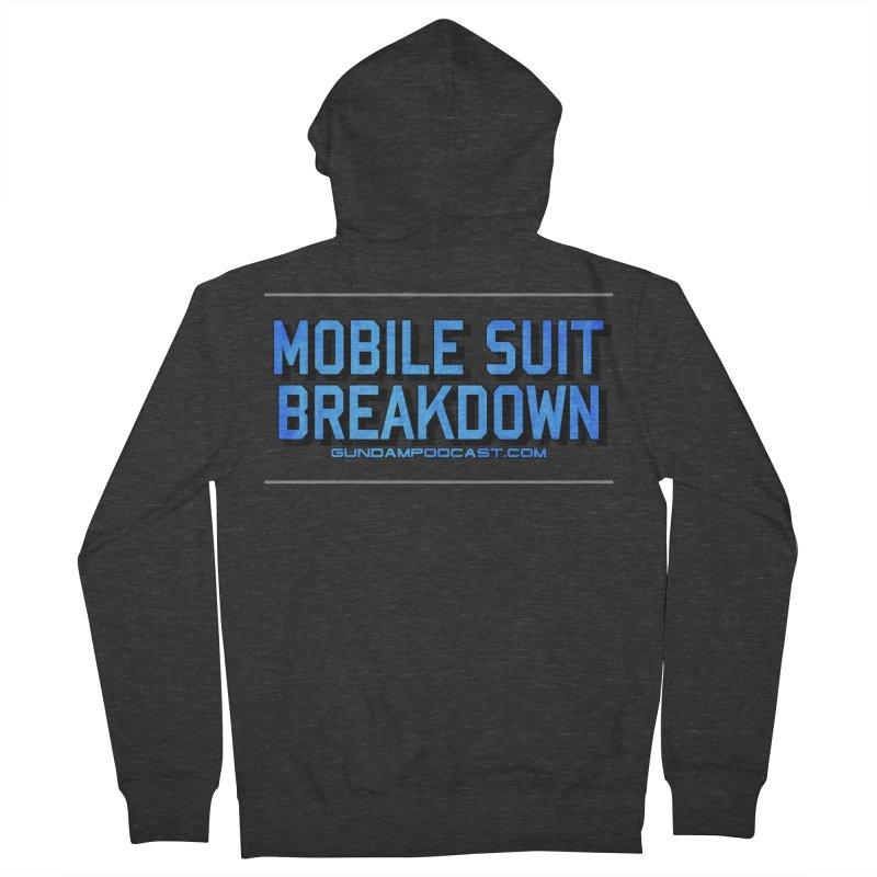Mobile Suit Breakdown Women's French Terry Zip-Up Hoody by Mobile Suit Breakdown's Shop