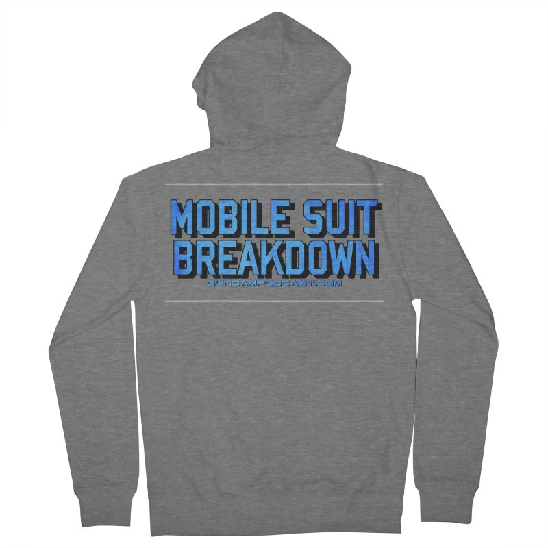 Mobile Suit Breakdown Men's French Terry Zip-Up Hoody by Mobile Suit Breakdown's Shop