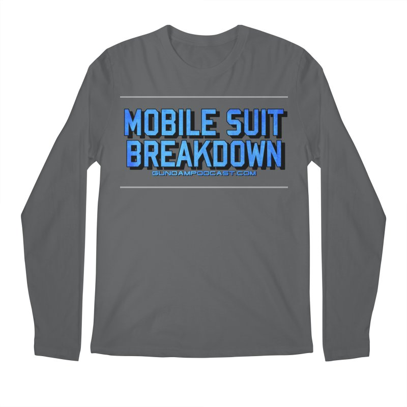 Mobile Suit Breakdown Men's Longsleeve T-Shirt by Mobile Suit Breakdown's Shop