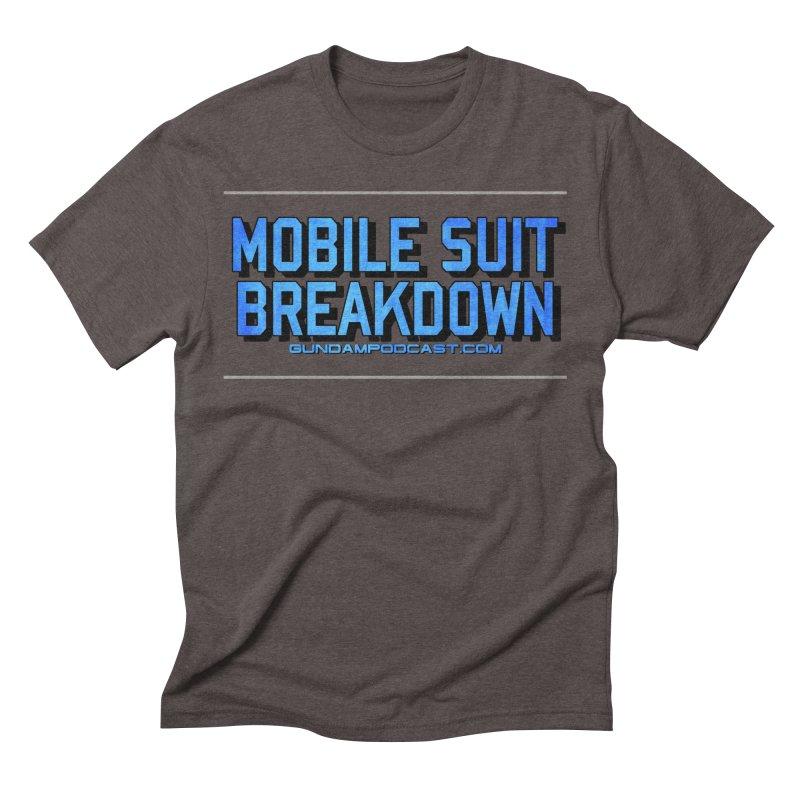 Mobile Suit Breakdown Men's Triblend T-Shirt by Mobile Suit Breakdown's Shop