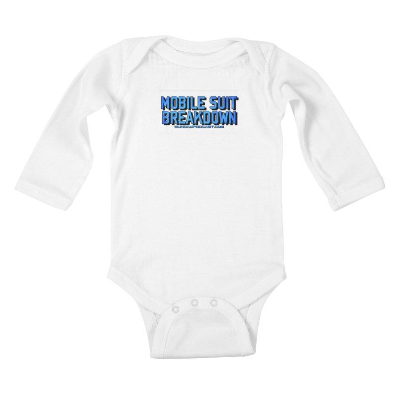 Mobile Suit Breakdown Kids Baby Longsleeve Bodysuit by Mobile Suit Breakdown's Shop