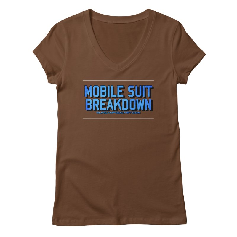 Mobile Suit Breakdown Women's Regular V-Neck by Mobile Suit Breakdown's Shop