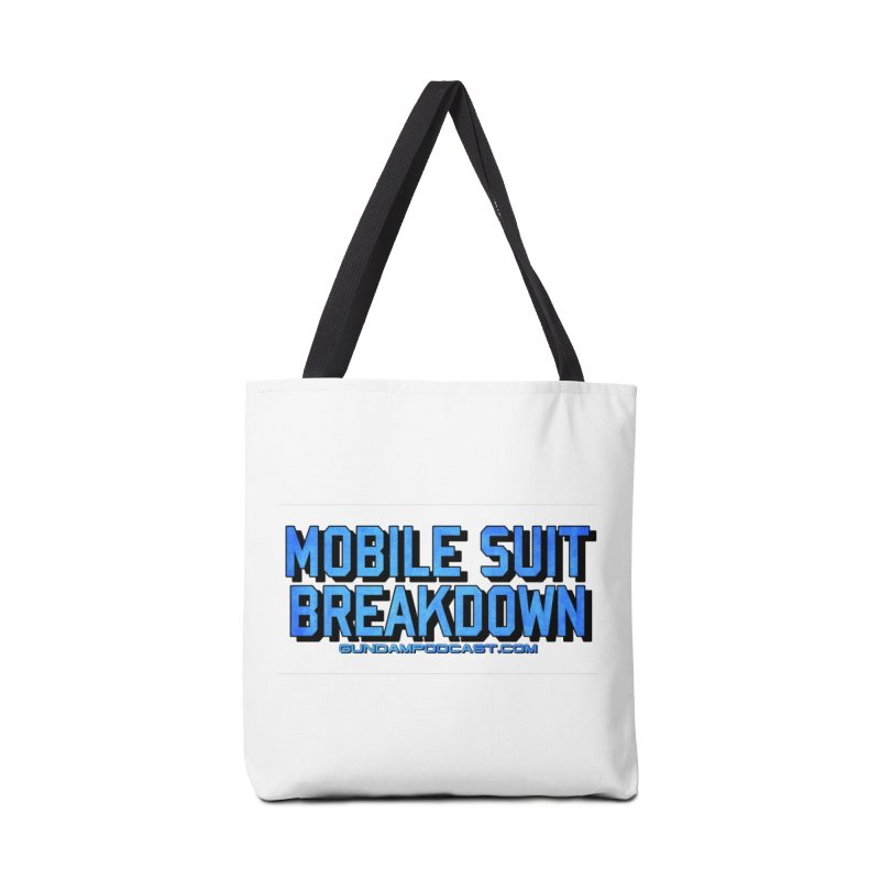 Mobile Suit Breakdown Accessories Tote Bag Bag by Mobile Suit Breakdown's Shop