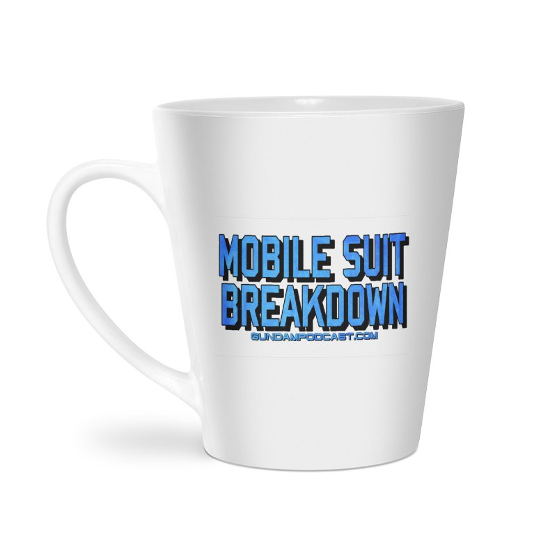 Mobile Suit Breakdown Accessories Latte Mug by Mobile Suit Breakdown's Shop