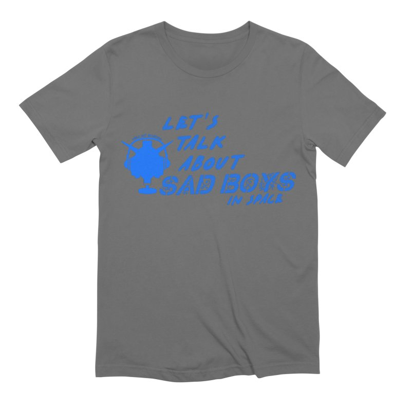 Sad Bois Blue Men's T-Shirt by Mobile Suit Breakdown's Shop