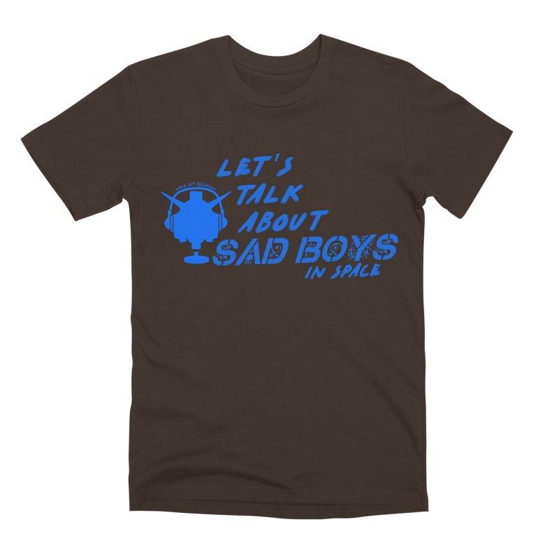 Sad Bois Blue Men's Premium T-Shirt by Mobile Suit Breakdown's Shop