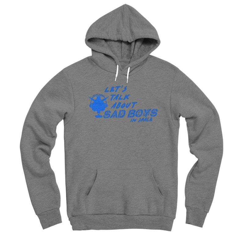 Sad Bois Blue Women's Pullover Hoody by Mobile Suit Breakdown's Shop
